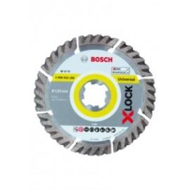 Disco Corte Segmentado  125Mm H 10Mm X-Lock Turbo Diam Standar