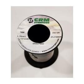 Estaño Soldal Resina 250Gr-1Mm 40%60% Crm