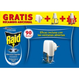 Trampa Mosquito Elect Raid 1 Ap + 2 Rec J309466 2 Pz