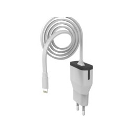 Cargador Telefono Pared Iphone Cable 2,4A/1Mt Bl Muvit