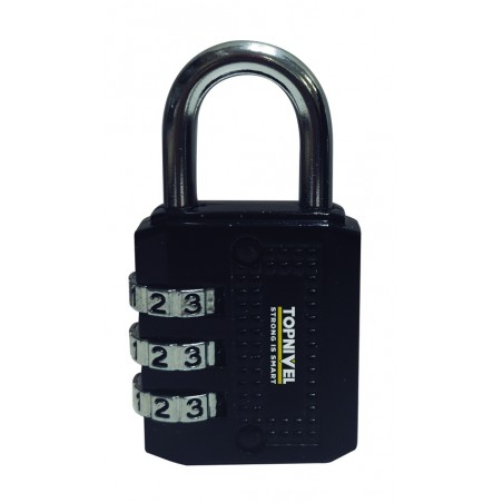 Candado Seguridad 60X32X13Mm Combinacion Programable Ne Nivel 0