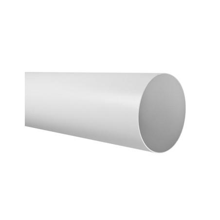 Tubo Extraccion Aire Redondo 150X1500Mm Ign/Aut Pvc Bl Sist 150