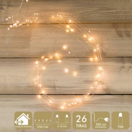 Luz Navidad Best Products Calido Microled 700 Luces