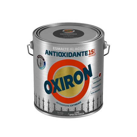 Esmalte Antioxidante 2,5 Lt Gr/Azu Ext. Liso Titan Forja Oxiron