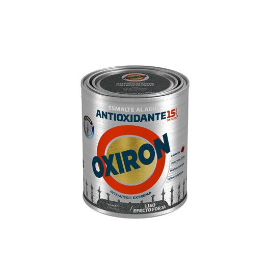 Esmalte Antioxidante 750 Ml Gr/Azu Ext. Liso Titan  Forja Oxiron