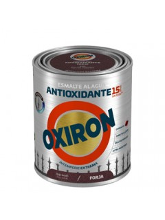 Esmalte Antioxidante Forja 750 Ml Rojo Oxido Ext. Titan Oxiron