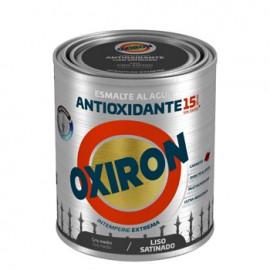 Esmalte Antioxidante Sat. 750 Ml Gr/Med Ext. Liso Titan Oxiron