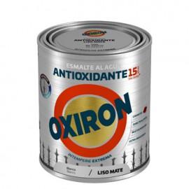 Esmalte Antioxidante Mate 750 Ml Bl Ext. Liso Titan Oxiron