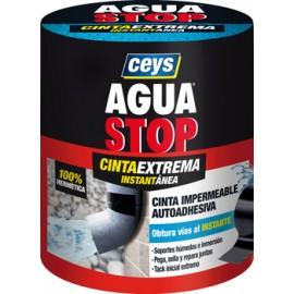 Cinta Adhesiva 100Mmx1,5Mt Fuga/Grie Impermeable Tra Aguastop