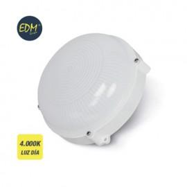 Aplique Iluminacion 12W 1080Lm 4000K 20Cm Ip65 Ext Edm Pl Bl Rdo