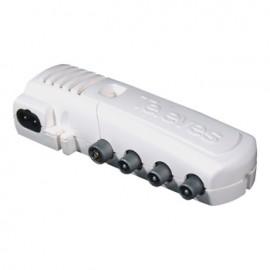 Amplificador Antena 47-790Mhz G10/16 Aut Aju+Dc Coaxial Tele