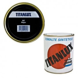 Esmalte Sint Mate 750 Ml Ne Int/Ext  Titanlux