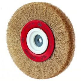 Cepillo Industrial Circular Multieje 150X0,3 Mm Acero/Latonado Jaz