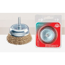 Cepillo Industrial Taza Taladro 075 Mm / 0,3 Mm Acero/Latonado Jaz