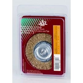 Cepillo Industrial Circular Taladro 075X0,3 Mm Acero/Latonado Jaz