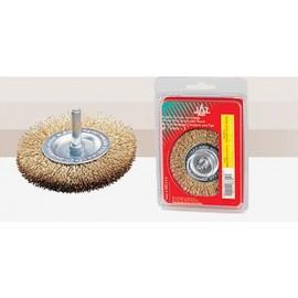 Cepillo Industrial Circular Taladro 100X0,3 Mm Acero/Latonado Jaz