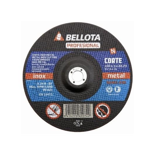 Disco Corte Metal 230X3X22 Mm Bellota
