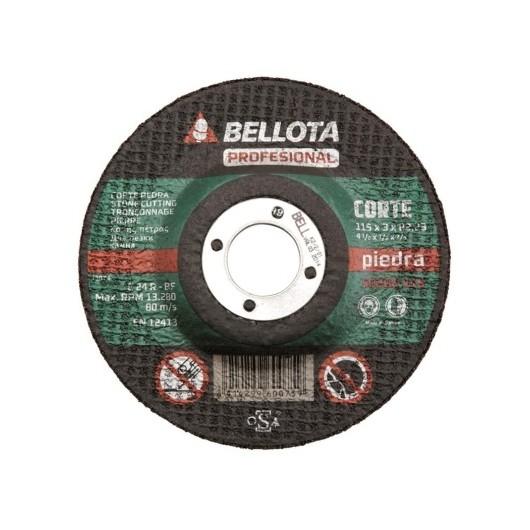 Disco Corte Piedra 115X3X22 Mm Bellota