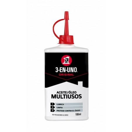 Aceite Lubricante Multiusos Gotero 3-En-Uno 100 Ml