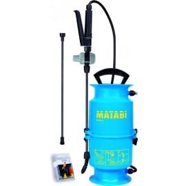 Pulverizador Agricola 4Lt Presion Previa Matabi Kima 6 Lanza Fibra Vidrio