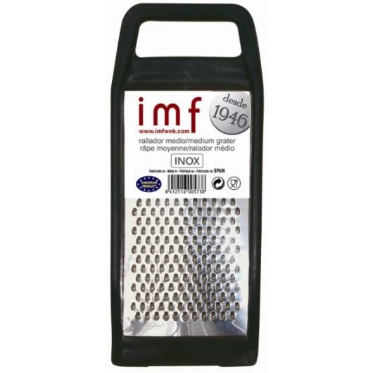Rallador Cocina Manual Plano 3 Usos Medio-Pan Inox Imf