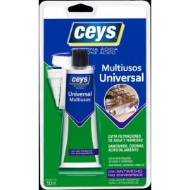 Silicona Acida Universal 50 Ml Tr. Sella Ceys Ceys