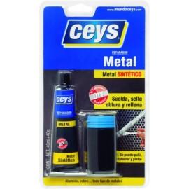 Reparador Superficie Metal Bic 40Ml+40Gr Metalceys Ceys