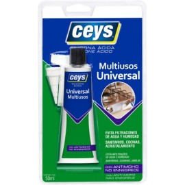 Silicona Acida Universal 50 Ml Bl Sella Ceys Ceys
