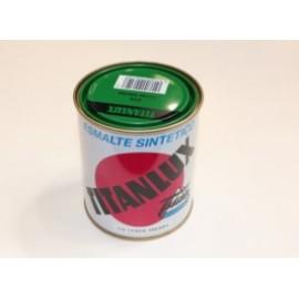 Esmalte Sintetico  Brillante  375 Ml Verde/Hierba Interior/Exterior  Titan Titanlux