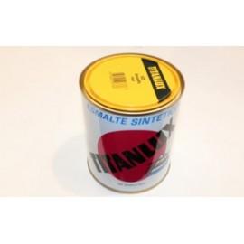 Esmalte Sintetico  Brillante  750 Ml Amarillo/Real Interior/Exterior  Titan Titanlux
