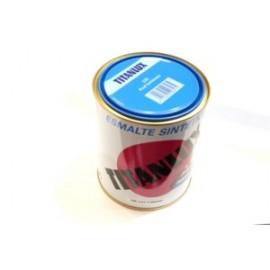 Esmalte Sintetico  Brillante  750 Ml Azul/Luminoso Interior/Exterior  Titan Titanlux
