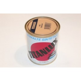 Esmalte Sintetico  Brillante  375 Ml Gamuza Interior/Exterior  Titan Titanlux
