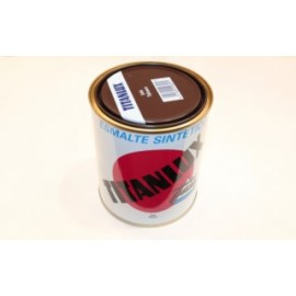Esmalte Sintetico  Brillante  750 Ml Taba Interior/Exterior  Titan Titanlux