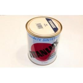 Esmalte Sintetico  Brillante  750 Ml Crema Interior/Exterior  Titan Titanlux