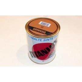 Esmalte Sintetico  Brillante  750 Ml Ocre Interior/Exterior  Titan Titanlux