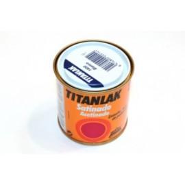 Esmalte Laca Satinado  125 Ml Blanco  Interior/Exterior  Poliuretano  Titan Titanlak