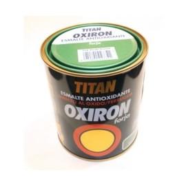 Esmalte Antioxidante Forja 750 Ml Verde Exterior Oxiron Titan