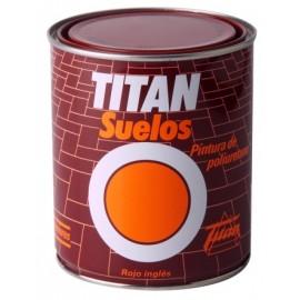 Pintura Suelo 750 Ml Rojo Mate Titan
