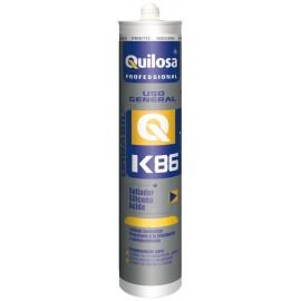 Silicona Acida Uso General 300 Ml Neg Prof. Orbasil K-86 Quilosa