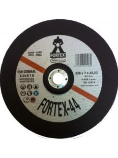 Disco Desbaste Metal 230X7X22 Mm Fortex