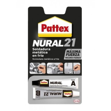 Cemento Adhesivo Metales 22 Ml Nural-21 Pattex