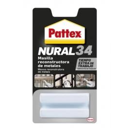 Masilla Restaurancion Metales 50 Gr Adhesivo Nural-34 Pattex
