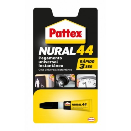 Adhesivo Instantaneo 3 Gr Nuraal-44 Pattex