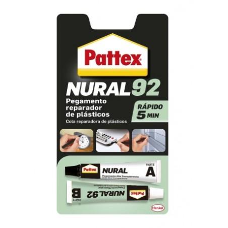 Adhesivo Plasticos 22 Ml Transparente Nural-92 Pattex