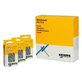 Remache Fijacion Estandar 4,8X10Mm Aluminio Minipack Gesipa 50 Pz