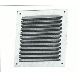 Rejilla Ventana Adhesiva 200X200Mm Aluminio