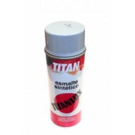 Esmalte Sintetico  Brillante  400 Ml Gris  Titanlux Titan