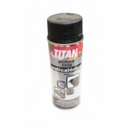 Pintura Anticalorica 400 Ml Negro 302 Spray Titan