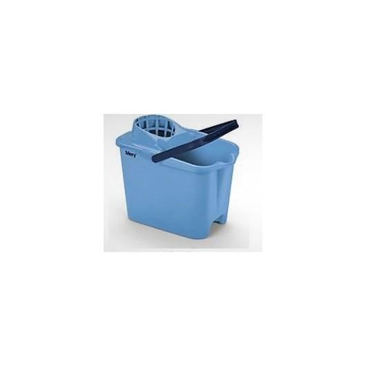 Cubo Agua 14 Lt Con Escurridor Mery Plastico Rectangular  Asa Plastico 315
