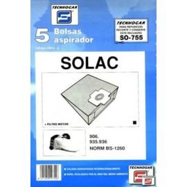 Bolsa Aspirador Papel Solac 935-936 Thogar 5 Pz 910755